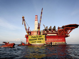 #Gazprom is the first company to install an oil drilling platform, called Prirazlomnaya, in the offshore ice covered Arctic Pechora Sea. | Via @VidarOceans Protecting the Oceans | Scoop.it