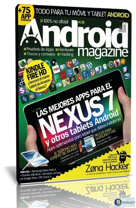 Revista Android Magazine N.10 Noviembre [2012] - clubso | android creativo | Scoop.it