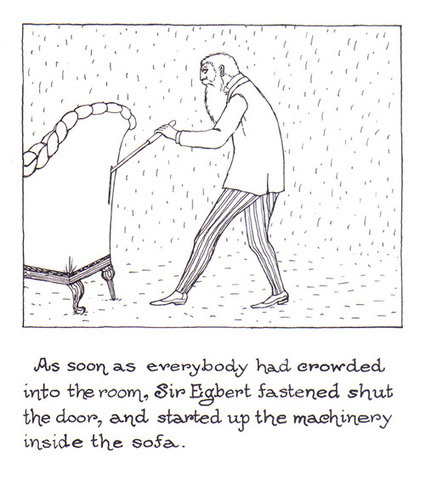 """The Curious Sofa: A """"Pornographic Horror Story""""  by Edward Gorey, 1961   Tracking Transmedia   Scoop.it"""