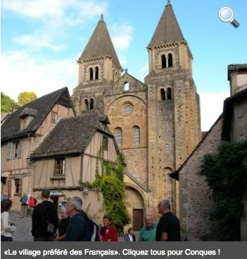 «Le village préféré des Français». Cliquez tous pour Conques ! | L'info tourisme en Aveyron | Scoop.it