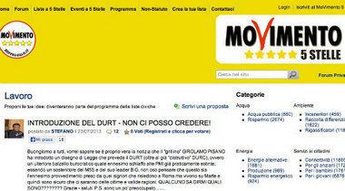 Il M5S inserisce il DURT, nuovo mostro affossa imprenditori. È polemica | Informazione consapevole | Scoop.it