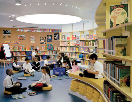Divine Design: How to create the 21st-century school library of your dreams | Digital Citizenship is Elementary | Scoop.it