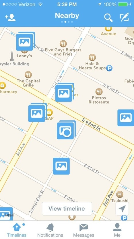 5 Tips To Leverage Twitter's New Nearby Feature | CAEXI Expertises | Scoop.it