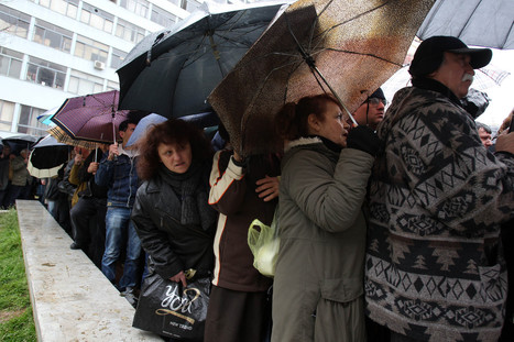 Greek Unemployment Hits Record High | Upsetment | Scoop.it