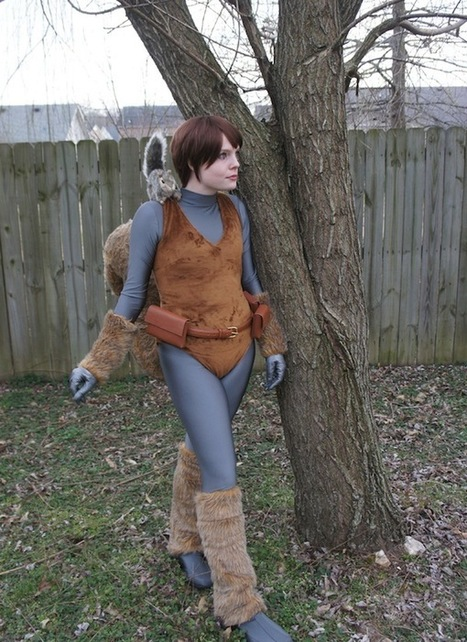 Squirrel Girl And Her Furry Little Friend [Cosplay] | Geek On | Scoop.it