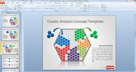 Free Cluster Analysis Concept PowerPoint Template | arken | Scoop.it