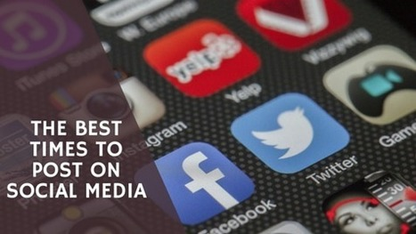 The Best Times to Post on Social Media [Infographic] - Malhar Barai | Quick Social Media | Scoop.it