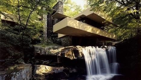 La maison sur la cascade de Frank Lloyd Wright   I love it !   Scoop.it