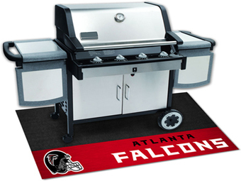7'8 x 10'9 Rectangular Made-to-Order Machine Made American NFL Atlanta Falcons Collection Rug   NFLG4LESS   Scoop.it
