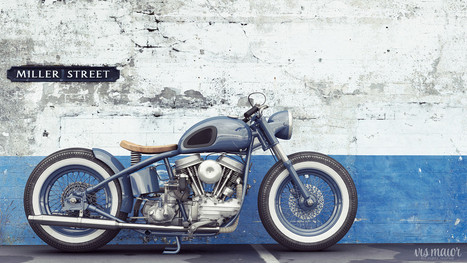 Vismaior 3D Design & Rendering Motorbike Company | Cafe Racers | Scoop.it