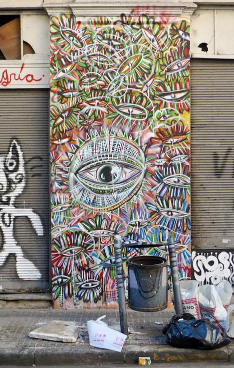 An Interview With Street Artist Malegría | Street Art and Street Artists | Scoop.it