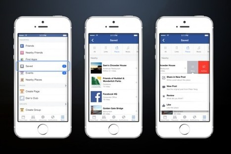 New Facebook Feature Allows Users to Save Items From News Feed - SiteProNews | Digital-News on Scoop.it today | Scoop.it