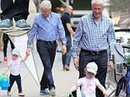 Bill Clinton dons blue suede shoes to walk family dogs around New York | Caring About Pets | Scoop.it