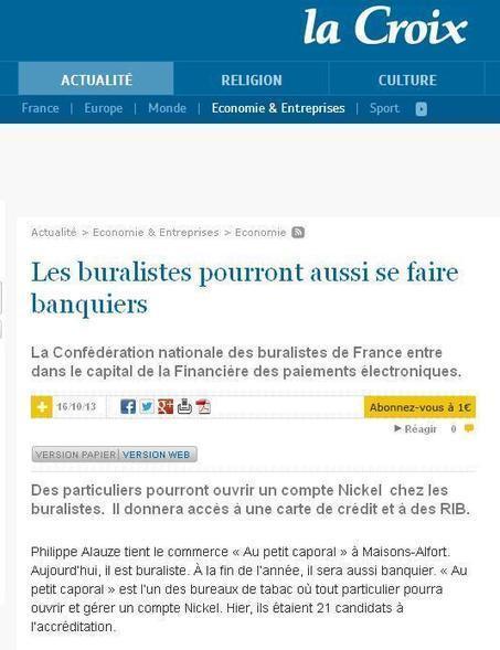 Buraliste et banquier à Maisons-Alfort !   Charentonneau   Scoop.it
