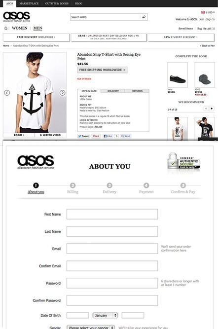 Why Most Online Shoppers Don't Make it Past the First Step of Checkout | Ecommerce Advice | Scoop.it