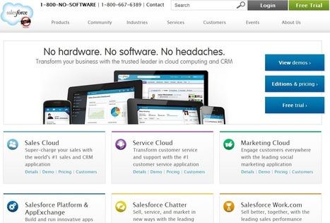 Is Salesforce pivoting from its social enterprise rap? | ZDNet | RCE Réseaux Collaboratifs d'Entreprise | Scoop.it