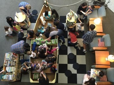 Library's Rowboat | Library Spaces: Creating a Learning Commons | Scoop.it