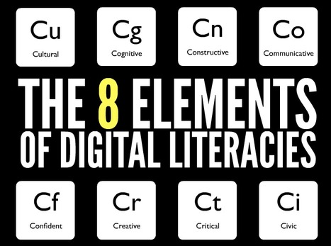 The 8 Key Elements Of Digital Literacy | Notas de eLearning | Scoop.it