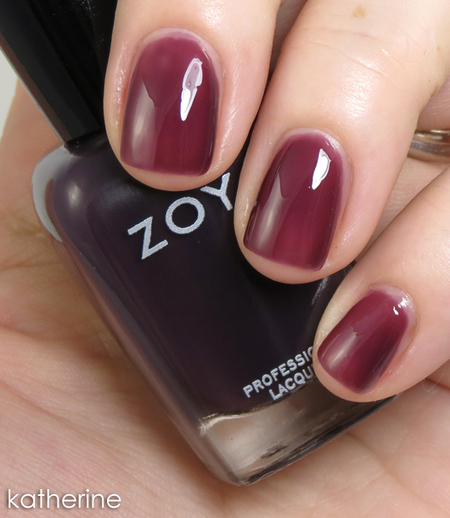 Review & Swatches: Zoya Gloss Sheer Jelly Collection for NYFW 2012   Fall Nail Polish   Scoop.it