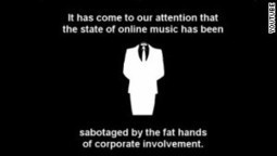 Anontune: the new social music platform from 'Anonymous' | LeoG | Scoop.it