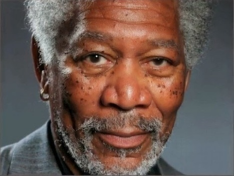Une photo de Morgan Freeman ? non, un dessin au doigt sur iPad ! | Geekologie.me | Tout le web | Scoop.it