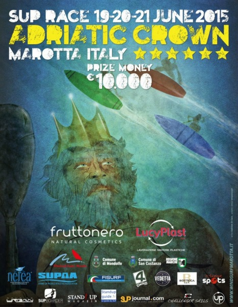 The richest Stand Up Paddling race is in Le Marche, Italy: SUP Adriatic Crown Marotta | Le Marche another Italy | Scoop.it