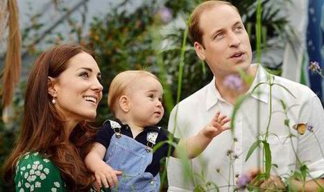Prince George effect! Toddler shifts attitudes to Royals as new official photos released | Viewsbank | Scoop.it