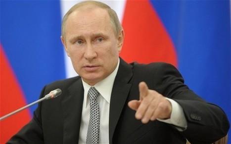 Vladimir Putin wishes G7 leaders 'Bon appétit' after snub - Telegraph   Business Video Directory   Scoop.it