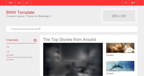 Bootstrap Zero - Free Bootstrap Templates and Themes   Development   Scoop.it