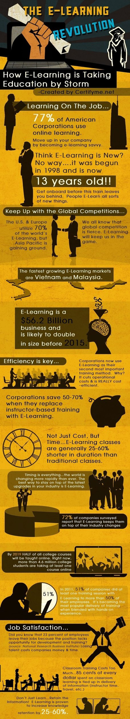 Important eLearning Statistics for 2013 | Master Learning and Innovation Stenden | Scoop.it