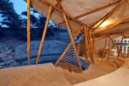 Beautiful Bamboo Symphony Promotes Building With Natural Materials | Top CAD Experts updates | Scoop.it