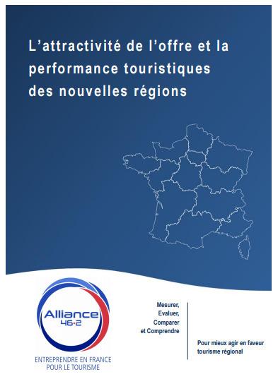 Veille info tourisme - Etude Alliance 46.2 : L'attractivité de l'offre et la performance touristiques des nouvelles régions | Marketing & Tourisme | Scoop.it
