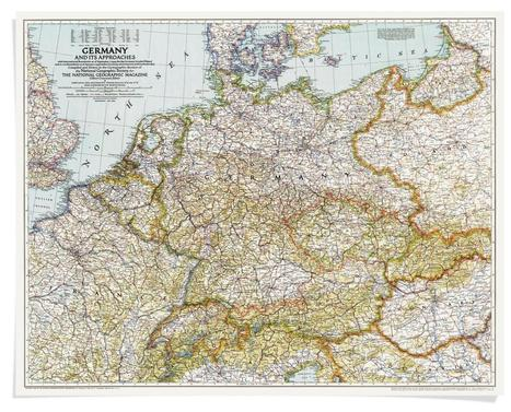 100 Years of National Geographic Maps | Géopolitique & Cartographie | Scoop.it