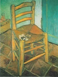 Heights Technology Blog | Transliteracy: Van Gogh's Chairs and QR ... | Transliteracy | Scoop.it