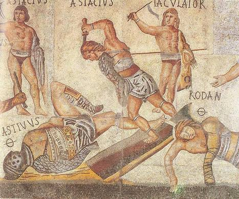 Caesar Undressing: Ancient Romans Wore Leather Panties And Loincloths | Teaching history and archaeology to kids | Scoop.it