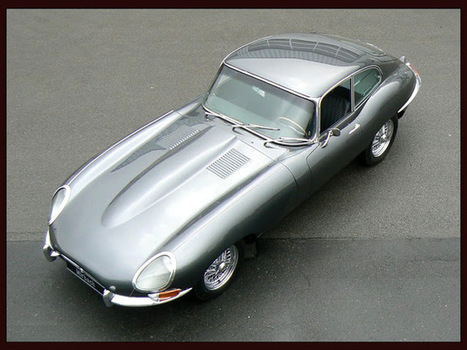 Jaguar E-Type ~ Grease n Gasoline | PCG Digital Marketing | Scoop.it