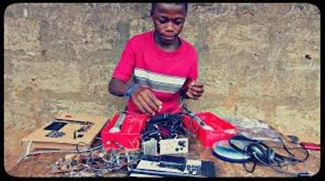 15-year-old DJ builds community FM station catches attention of MIT | Capital Campus | Kenya School Report - 21st Century Learning and Teaching | Scoop.it
