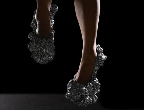 This shoe design is inspired by particulate matte in space | Digital Design and Manufacturing | Scoop.it