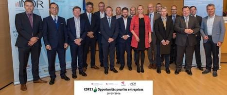Conférence COP21: opportunités pour les entreprises | Le flux d'Infogreen.lu | Scoop.it