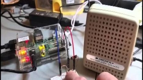 Build a Little Text-to-Speech Machine with a Raspberry Pi   Raspberry Pi   Scoop.it