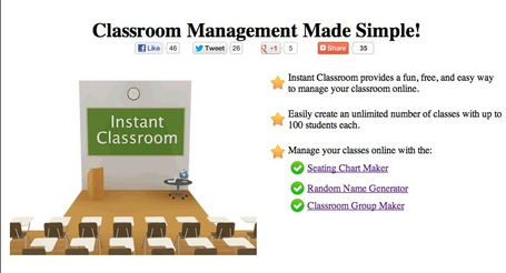 InstantClassroom Seating Chart Maker