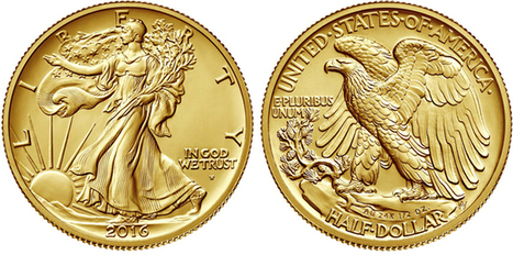 Walking Liberty 2016 Centennial Gold Coin: Images, Mintage, and Household Order Limits | Numismatic | Scoop.it