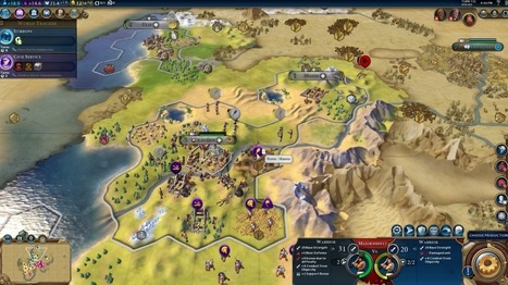 Here's how Civilization VI brings new life to the epic game series | Edtech PK-12 | Scoop.it