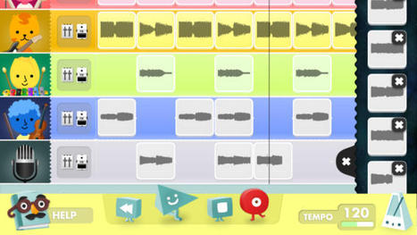 Introducing Early Years Pupils to Music Creation on the iPad- April 2014 Blog Post | Adam Foster's Blog | Scoop.it