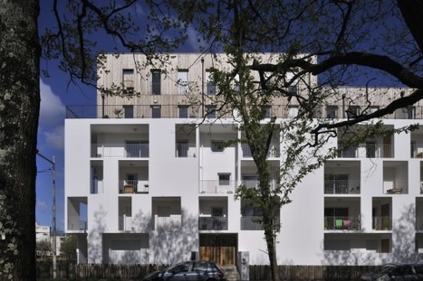 [Nantes, France] ESTEBAN, residential apartment building / Leibar-Seigneurin   The Architecture of the City   Scoop.it