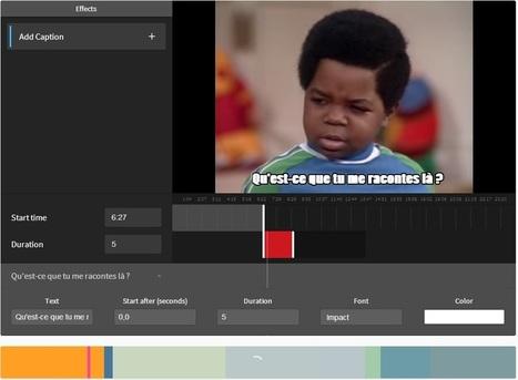 Astuce : comment créer très facilement une image animée (GIF)… grâce à une vidéo YouTube   Web Design et Digitale outils   Scoop.it