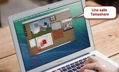 Collaboratif : Tamashare, un outil prometteur | E-pédagogie, web2.0 | E-pedagogie, apprentissages en numérique | Scoop.it