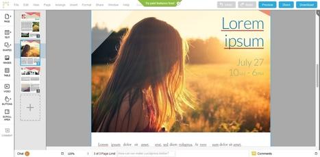 Lucidpress: Diseña tu propia revista gratis y online - Neoteo | Educacion, ecologia y TIC | Scoop.it