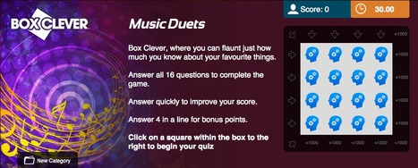 Music Duets | Box Clever | QuizFortune | Quiz Related Biz - Social Quizzing and Gaming | Scoop.it