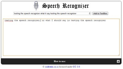 Free Technology for Teachers: Two Handy Speech to Text Tools | Elementary Classroom Technology | Scoop.it